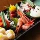 旬の食材を使用した 和食一品料理も多数ご用意