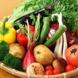 ざる盛蒸し野菜