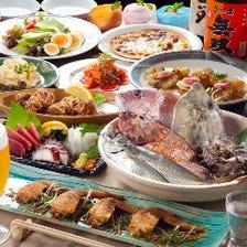 お刺身、から揚げなどの人気料理も