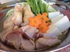 特製 水炊き鍋 秘伝 黄金スープ