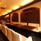 【ゆったりテーブル席/最大16名様まで】女子会、打ち上げ、飲み会に最適