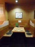 4名様掘りごたつ式テーブル席