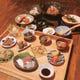 旬のお造りや素材をふんだんに使った OBANZAI御膳spécialité