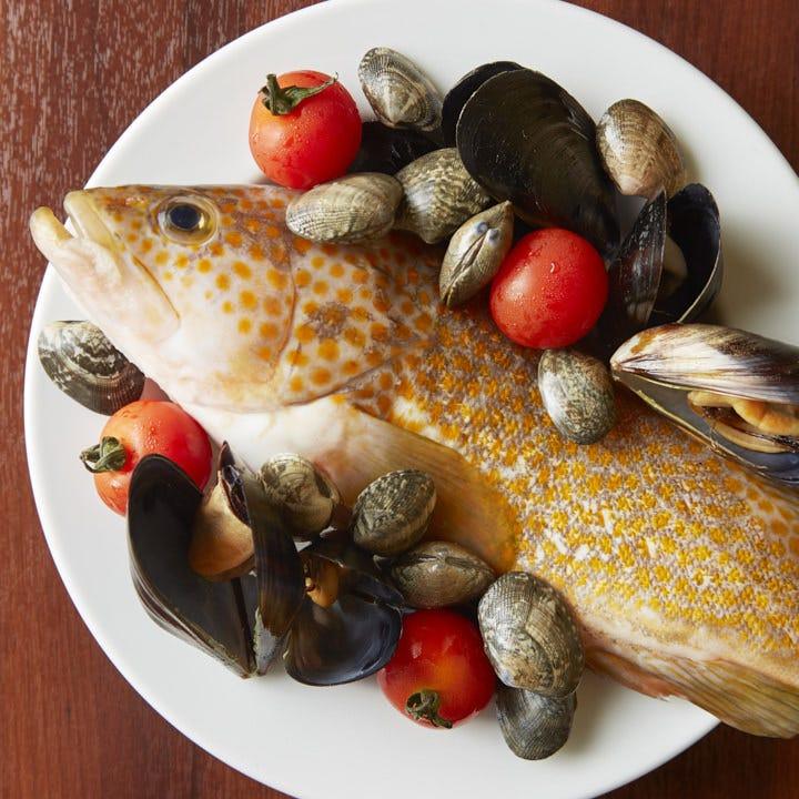 豊洲直送の新鮮魚介で作るイタリアン