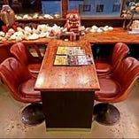 伊江島一望窓側テーブル席