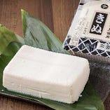 田内屋の絹豆腐