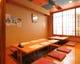 1階掘りごたつ席は個室としての利用も可能