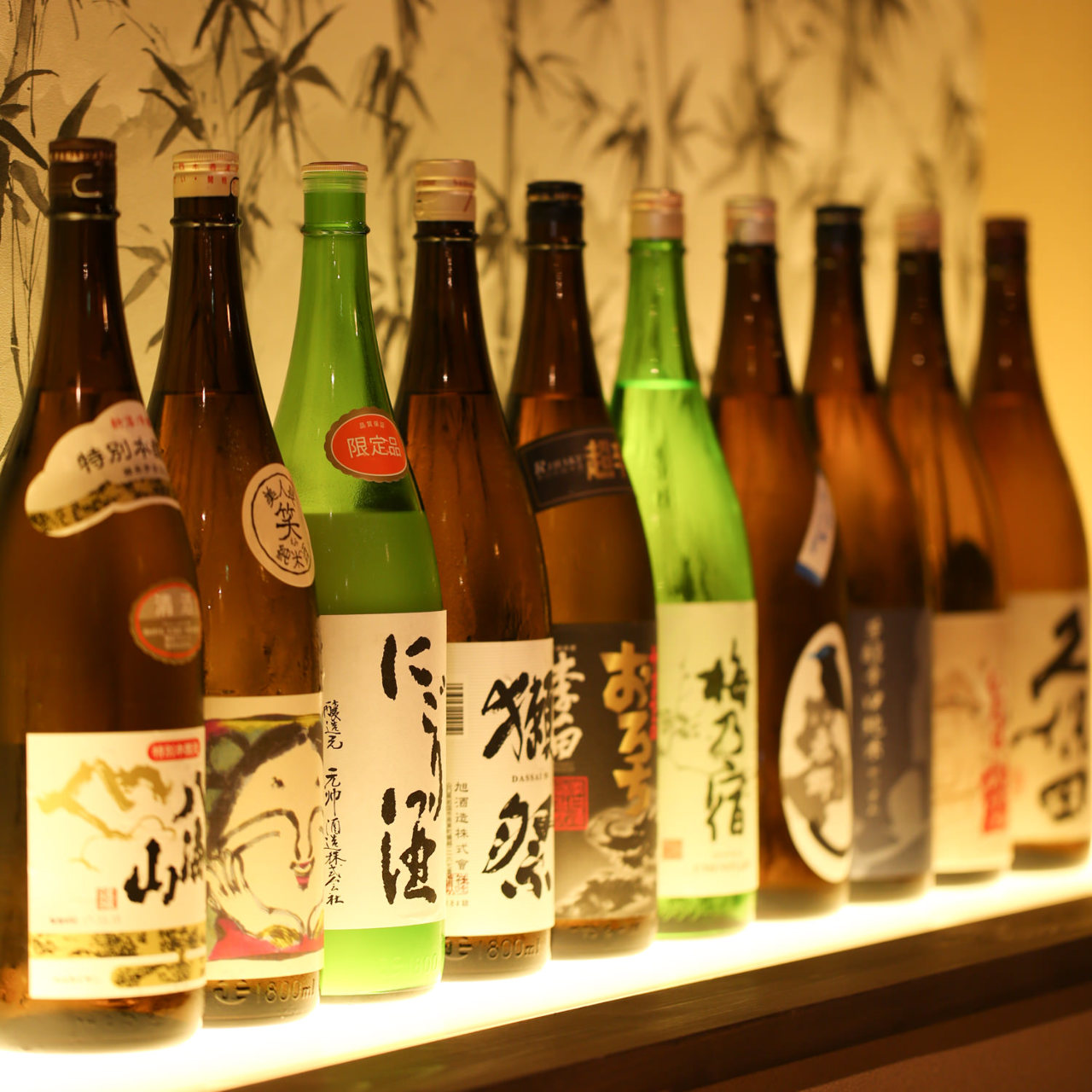 全国各地の厳選した日本酒