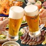 飲み放題付きコースは4000円~☆自慢の藁焼きコースも充実!