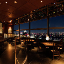 地上200mから東京を一望する景色