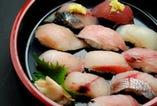 地魚ずし 2,500円  (税込2,750円)