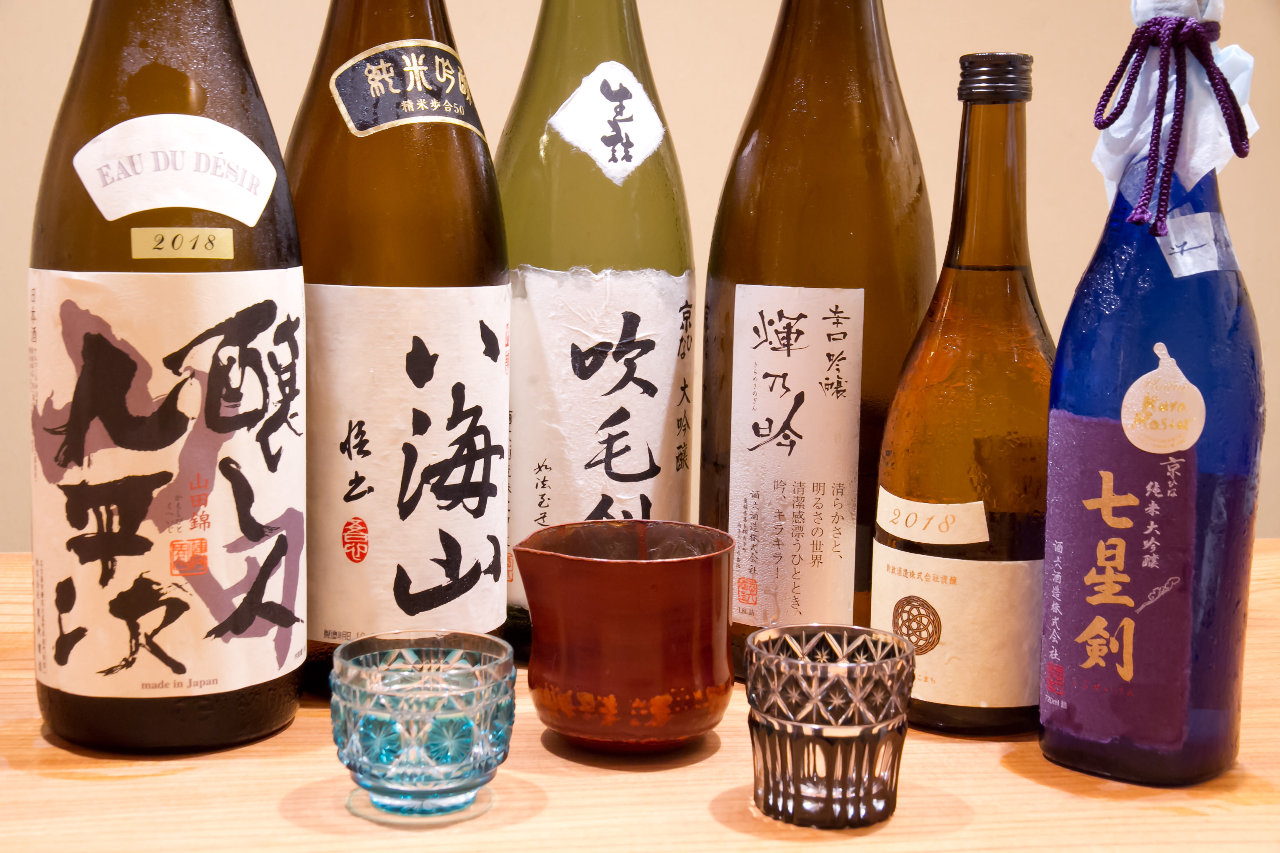 種類豊富な飲み物メニュー【日本酒】