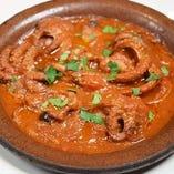 イイダコのトマト煮 サンタルチア風