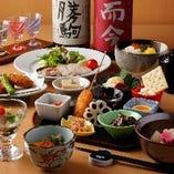 日本酒に合う洗練された和食。