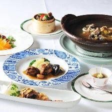 種類豊富なコース料理