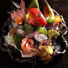 鮮魚造り盛り合わせ