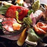 鮮魚お造り盛り合わせ【静岡県】