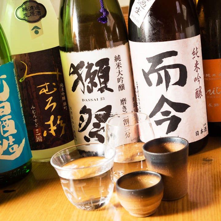 日本酒のソムリエ厳選の銘酒