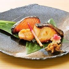 老舗魚久の京粕漬を炭火焼でどうぞ