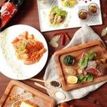 【お料理】 季節の食材を使用、洗練されたモダンイタリアン料理