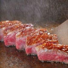 【大人気】鉄神自信の極上牛ステーキ