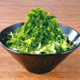 アオサと水菜の九州チョレギサラダ