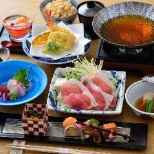 旬食材と大和食材を生かしたスタイル