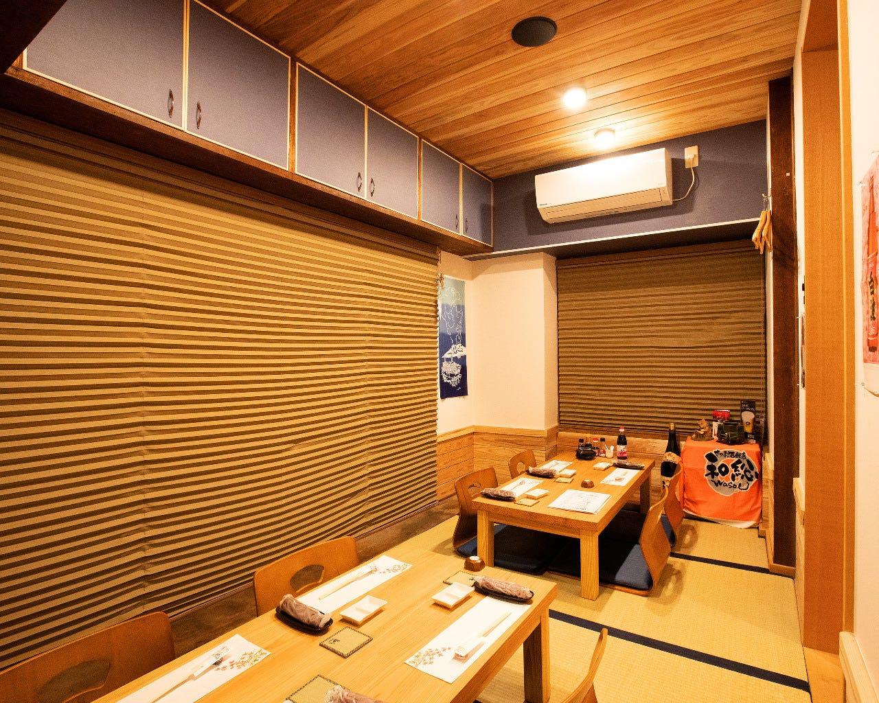 ◆個室3部屋完備/ご宴会にもおすすめ