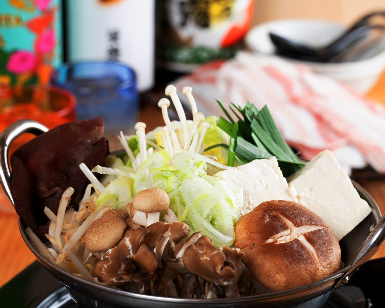 ◆老舗の味を継承「湯豆腐」
