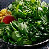 中国野菜は、福岡から直送しています。