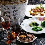広東料理と中国酒の相性をお楽しみください。