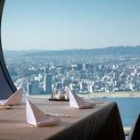 その時だけにしか観ることのできない景色と共に、本格広東料理に舌鼓。