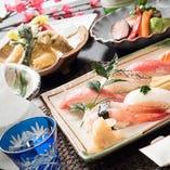 ◆旬の会席料理を存分にご堪能ください