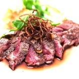 エゾ鹿のステーキ