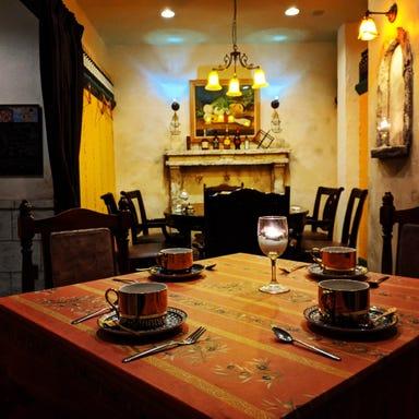 イタリアンキッチン Tia'cano (ティアカーノ) 店内の画像