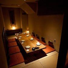 旅情豊かな和みの完全個室