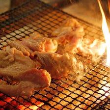 香ばしジューシー!厳選肉の備長炭炙り焼