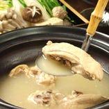 長時間煮込んだスープは絶品。