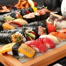 時間無制限!!職人がにぎる寿司食べ放題プラン