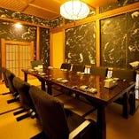 職人がにぎる寿司を寛ぎの和風個室でお楽しみください!!