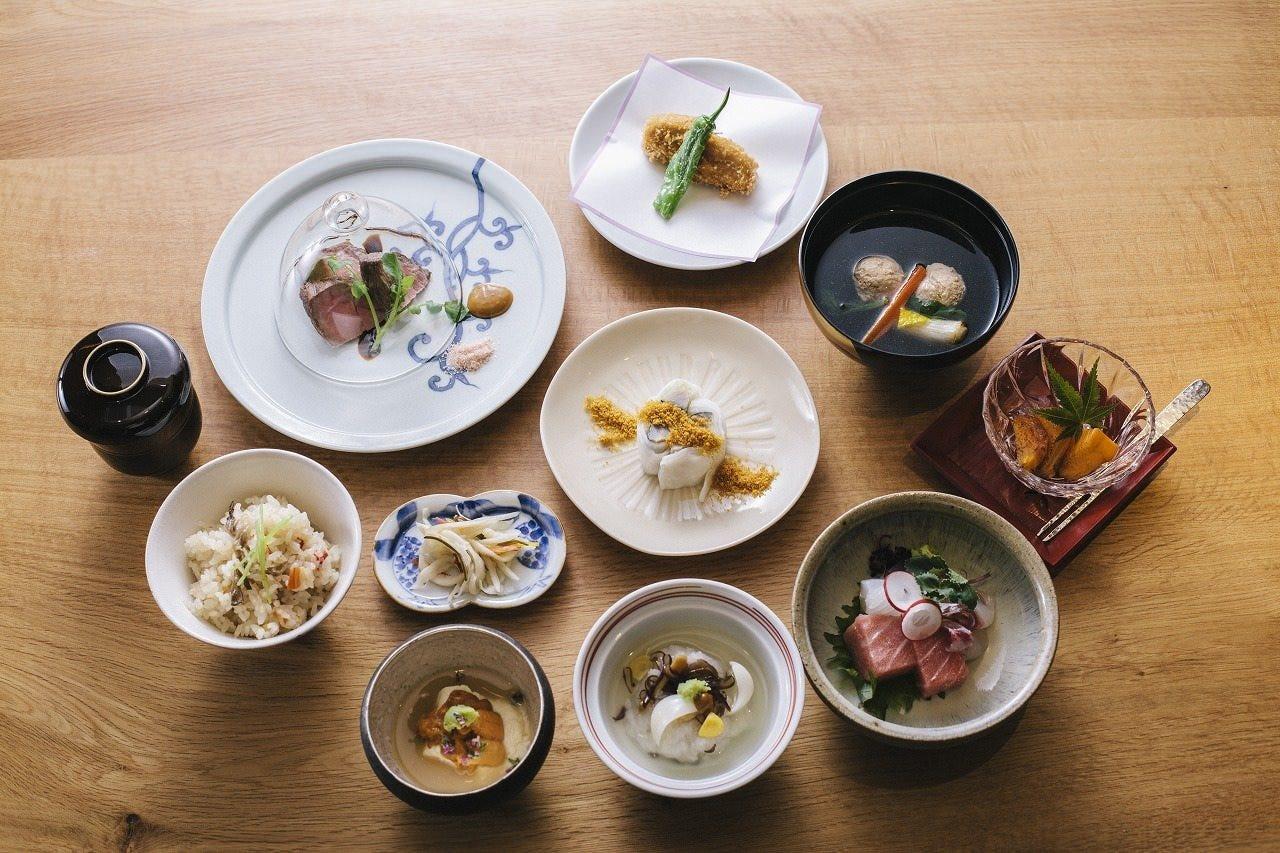 接待や会食に…多彩なコース料理