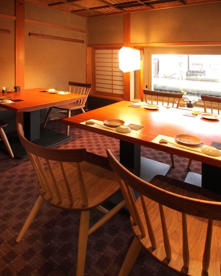 落ち着いたテーブル個室★