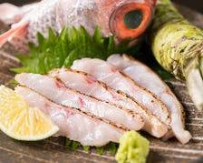 厳選された鮮魚がおすすめ!