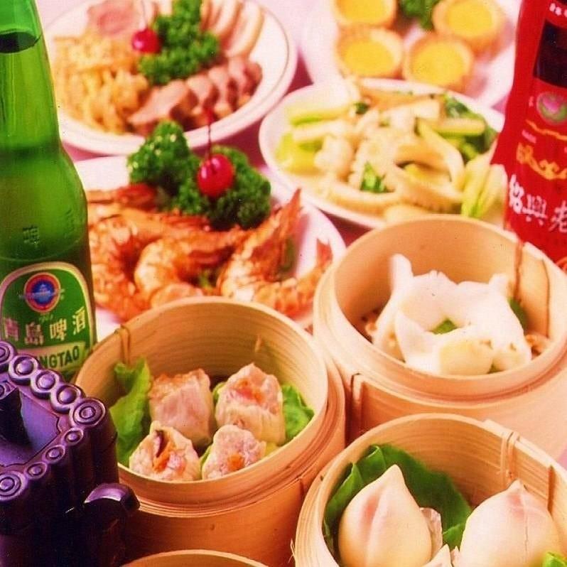 お昼限定!『35種』手作り飲茶&中国料理食べ放題が1,690円◎