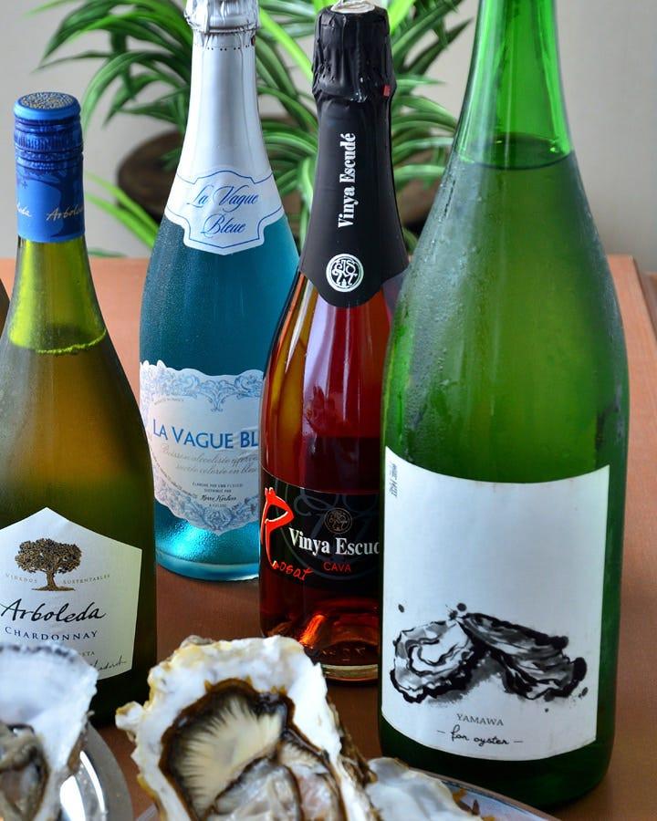 日本酒飲み放題コースをご用意!