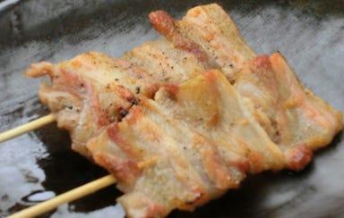 炭火串焼きと鶏料理 田蔵  メニューの画像