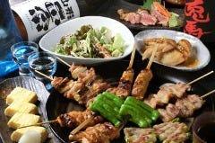 炭火串焼きと鶏料理 田蔵