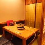 2階掘り炬燵完全個室