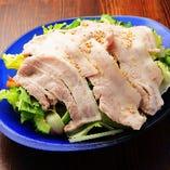島豚の冷しゃぶサラダ