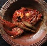 金目鯛の煮つけはお酒との相性抜群